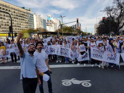 Pablo Alaniz en Av 9 de Julio
